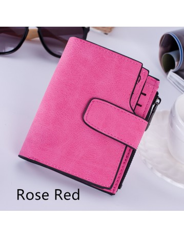 Fashion Small Short Female Purse