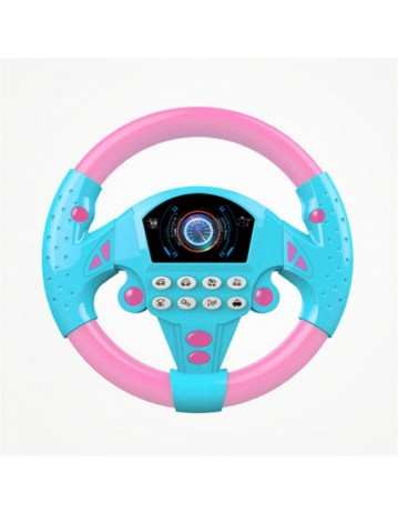 Music Simulation Driving Steering Wheel Toy