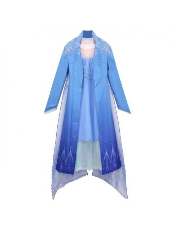 Kids Elsa Princess Jacket