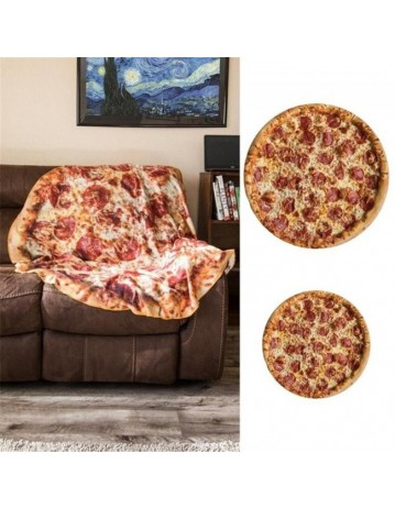 Premium Flannel Cloth Pizza Blanket