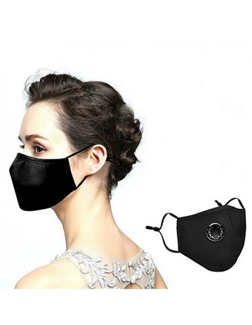 Washable Cotton Face Mask Can Put Filter In