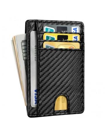 Men Carbon Fiber Credit Card Holder
