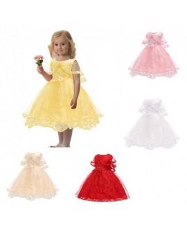Girls Lace Cloak Tutu Dress