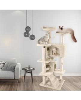 Multilevel Cat Climbing Tree