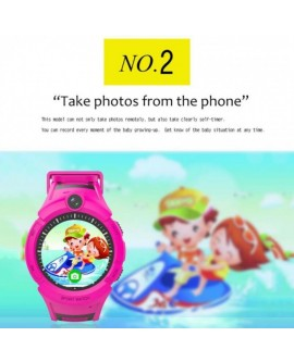 Q610 GPS Children's Smart Watch
