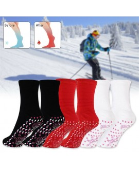 Self Heating Magnetic Tourmaline Therapy Health Socks