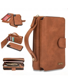 Multifunction Wallet Leather Case For For iPhone 6/6S 6plus/6splus 7/8 7plus/8plus X/XS