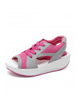 Women Fish Mouth Thick Bottom Shoes