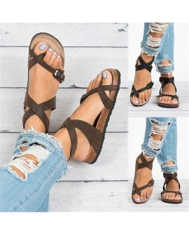 Women Summer Beach Sandals Bohemia Gladiator Leisure Female Sandals