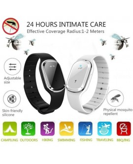 Smart Rechargeable Mosquito Repellent Bracelet
