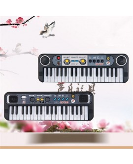 Musical Instrument 37 Keys Multifunctional Mini Electronic Keyboard Music Toy