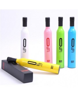 Manual Open UV Protection Wine Bottle Umbrella