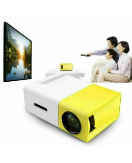 "Home Cinema Bundle - YG300 LED Projector & 84"" Portable Screen!"