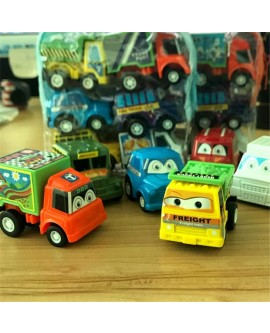 Mini Pull Back Car Toy Set