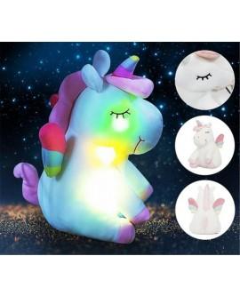 Cute Rainbow Unicorn Plush Doll