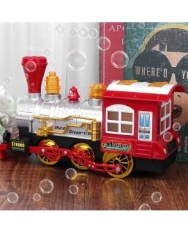 Electric Blow Bubble Train Toy