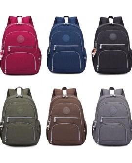 Waterproof Nylon Bag School Backpack S