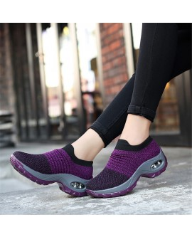 Breathable Platform Sneakers