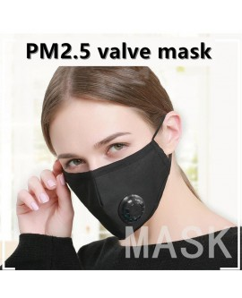 Cotton Face Mask Can Put Filter In