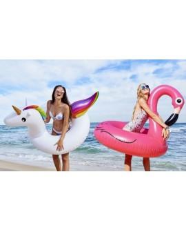 Inflatable Flamingo/ Peacockswim ring