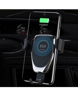Qi Fast Wireless Car Charger