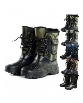 Men Outdoor Waterproof Snow Boots