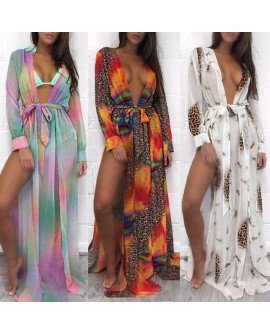 Women Bikini Cover Up Swimwear Beach Maxi Wrap Skirt