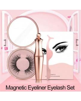 1 Pair of Magnetic Eyelashes and Magnetic Eyeliner Kit