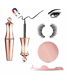 1+3 Pair Magnetic Eyelashes and Magnetic Eyeliner Kit