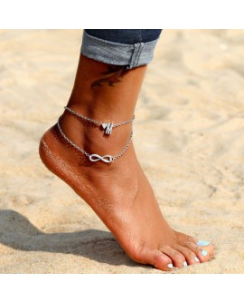 Love Letter Alloy Anklet