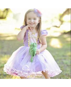 Kids Rapunzel Princess Dress