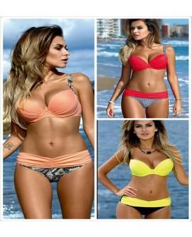 UK Womens Bikini Set Swimsuit High Waist Ladies Bathing Suit