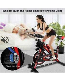 Adjustable Seat Spin Bike