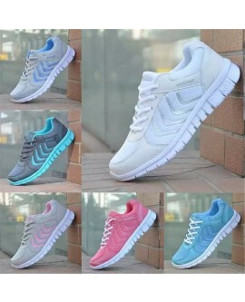Womens Sneakers Breathable Mesh Running Sports Shoes