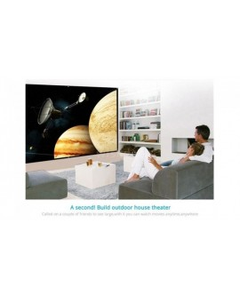 84/100/120 Inch Portable Foldable Projection Screen