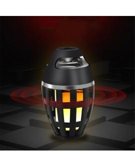 Flame Table Lamp Bluetooth Speaker