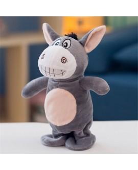 Small Donkey Plush Toys Talking Walk