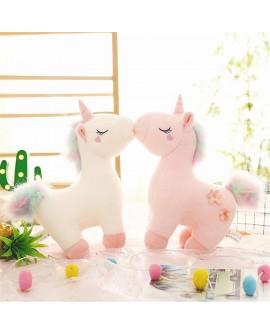 Dreamy Unicorn Cartoon Plush Doll