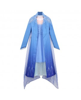 Kids Elsa Princess Jacket