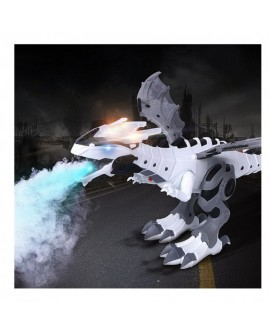 Electric Dinosaur Spray Light Sound Educational Toy