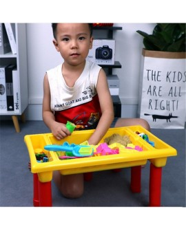 Kids Puzzle Building Blocks Toys & Table