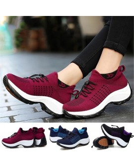 Women Running Shoes Breathable Sneakers