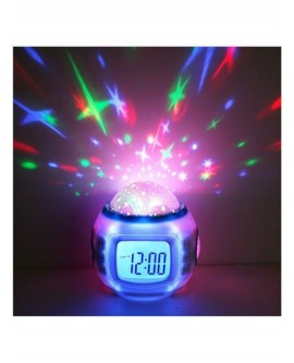 Sky Star Night Music LED Lamp Alarm Clock