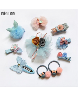 Fashionable Cartoon Hair Accessories Set