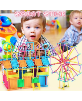 500 Pcs DIY Creative Smart Sticks Educational Building Blocks Toys