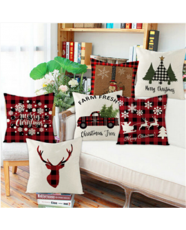 18″ Christmas Cushion Cover Pillow Case