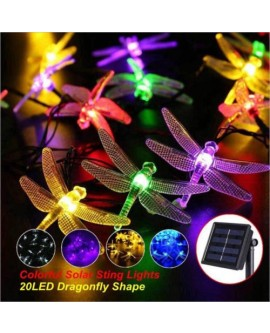 20 LED Solar String Fairy Lights
