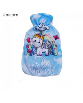 Cartoon Rubber Hot Water Bottle Pocket