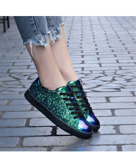 Fashion Women Stage Flat Shoes