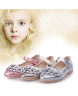 Girls Crystal Princess Shoes